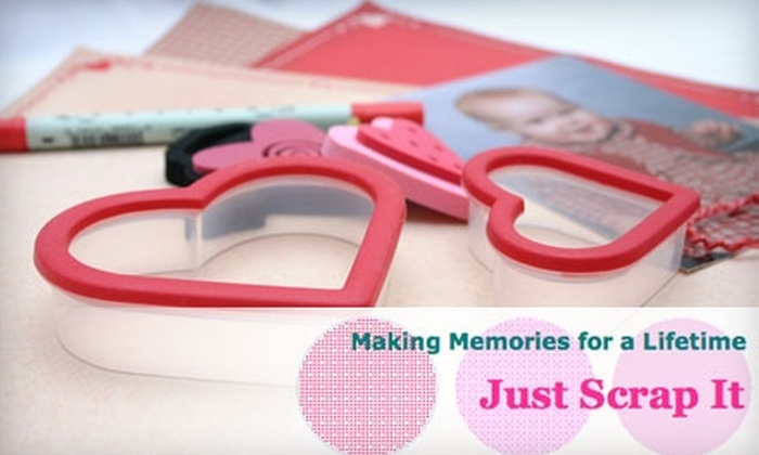 Just Scrap It - Sherwood: $10 for $20 Worth of Scrapbooking Classes at Just Scrap It