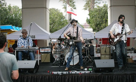 Gourmet Music Carnival at Los Angeles State Historic Park on Sun., Aug. 21 at 11:00AM: General Admission Pass - Gourmet Music Carnival in Los Angeles