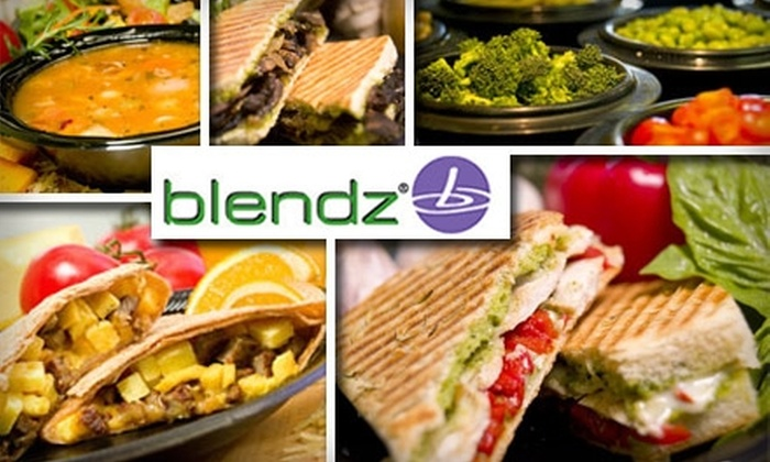 Blendz - Downtown San Jose: $7 for $15 Worth of Fresh and Fast Eats at Blendz San Jose