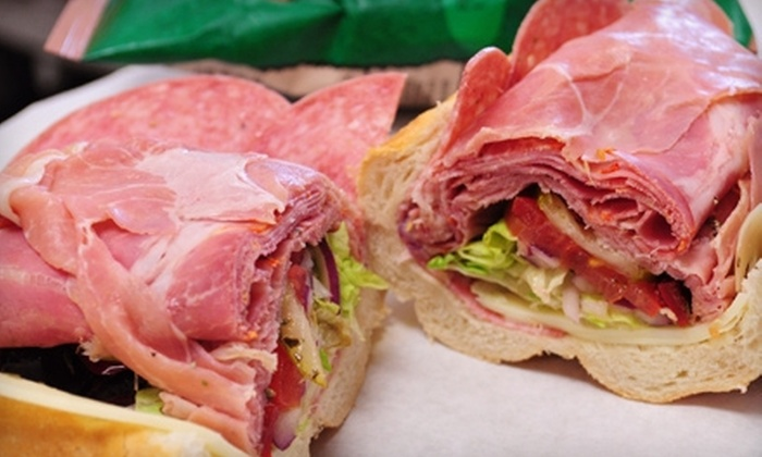 Tucci's SouthSide Subs - Multiple Locations: $6 for $12 Worth of Sandwiches and Desserts at Tucci's SouthSide Subs