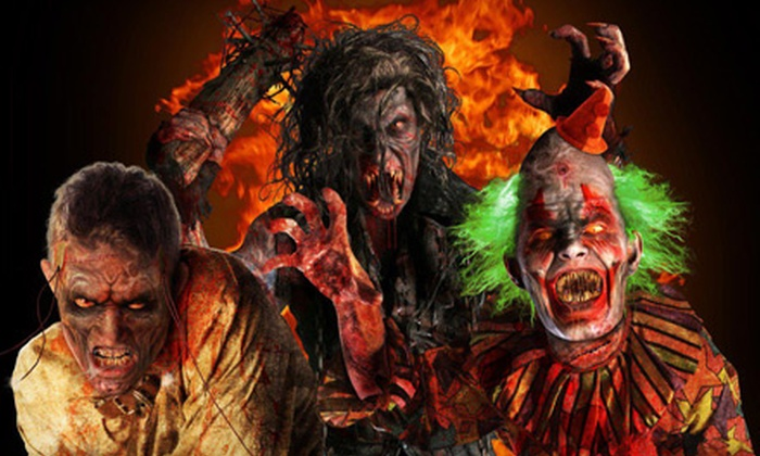 Pure Terror ScreamPark - Chester: Speed-Pass Admissions for Two or Four to Pure Terror ScreamPark in Chester