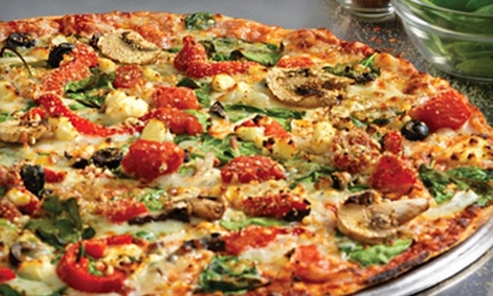 Domino's Pizza - Carson Grove - Carson Meadows: Large Five-Topping Original or 12-Inch Deep-Dish Pizza at Domino's Pizza
