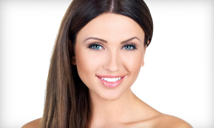 Dazzles Salon - Hackensack: $99 for a Keratin Hair-Straightening Treatment at Dazzles Salon in Hackensack (Up to $500 Value)