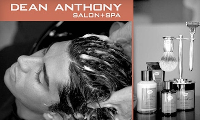 Dean Anthony Salon + Spa - Belmont Shore: Men's Salon Services at Dean Anthony Salon + Spa. Choose from Three Options.