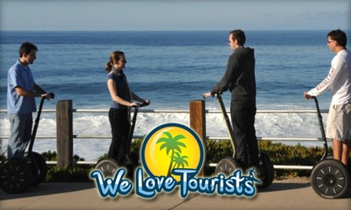 We Love Tourists - Multiple Locations: $39 for Your Choice of Two-Hour Segway Tour with We Love Tourists ($110 Value)