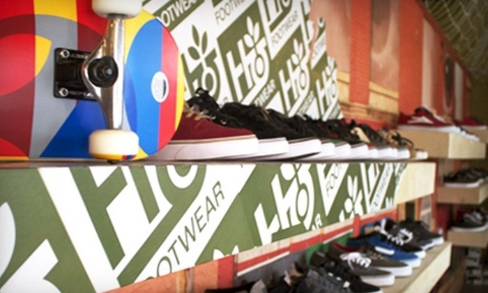 Anonymous Skateboard Shop - Covedale: $15 for $30 Worth of Shoes, Shirts, Decks, and More at Anonymous Skateboard Shop