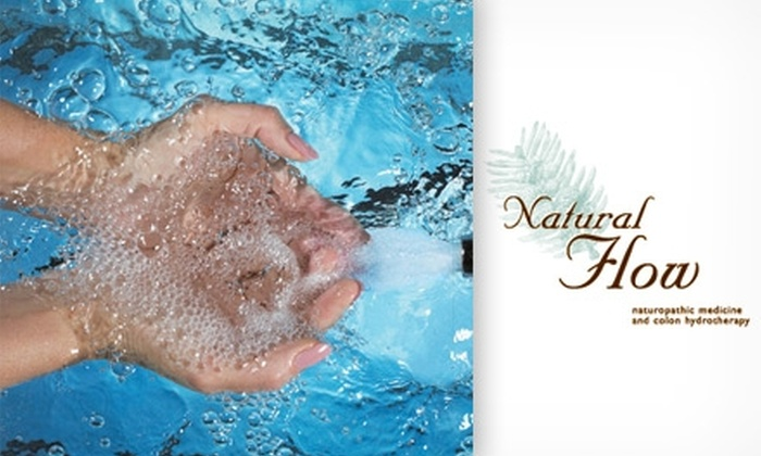 Natural Flow - City Park West: $45 for a 40-Minute Colon Hydrotherapy Session at Natural Flow