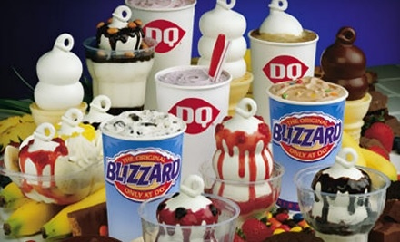 $10 Groupon to Dairy Queen - Dairy Queen in Howland