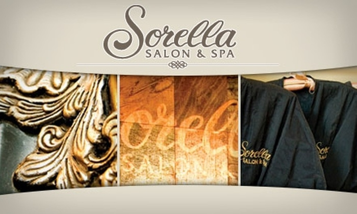 Sorella Salon & Spa - Multiple Locations: $35 for $75 Worth of Waxing Services at Sorella Salon & Spa