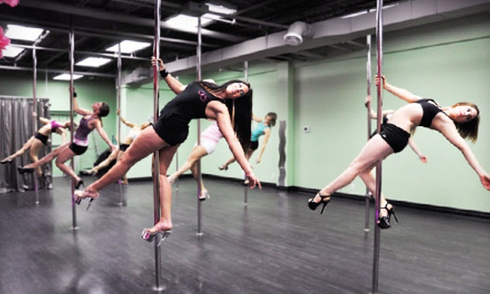 Cherry Blossom Pole Dancing Studio - Gloucester: One Month or Six Weeks of Pole-Fitness Classes at Cherry Blossom Pole Dancing Studio in Gloucester (Up to 61% Off)