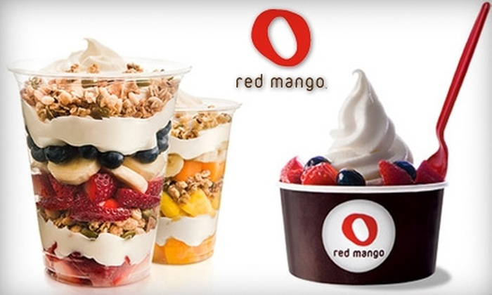 Red Mango - Multiple Locations: $5 for $10 Worth of Frozen Treats at Red Mango