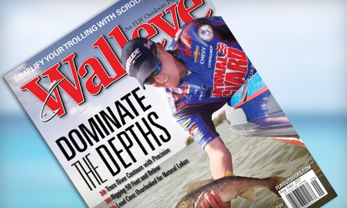 "FLW Outdoors - Multiple Locations: $7 for a One-Year Subscription to ""Walleye"" ($15 Value)"