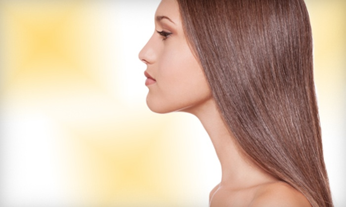 Dava-Do's - Houston: $125 for a Brazilian Keratin Straightening Treatment from Dava-Do's in The Woodlands ($250 Value)