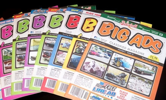 The Big Ads - Springfield, MA: $10 for a Three-Month Classified Ad from The Big Ads ($45 Value)