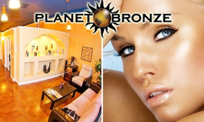 Planet Bronze Tanning Salon  - Renton: $40 for 1-Month Unlimited Access to Planet Bronze Tanning Salon