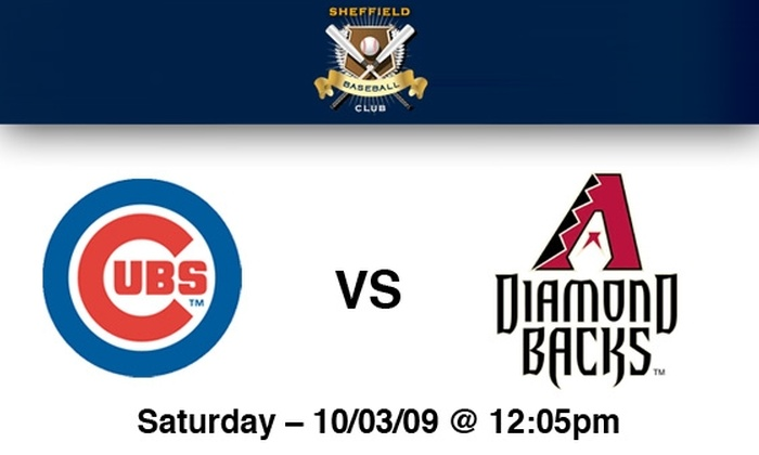 Sheffield Baseball Club - Lakeview: Cubs Rooftop Tickets: All You Can Eat & Drink Included. Buy Here for Cubs vs Arizona on 10/3 at Sheffield Baseball Club. More Games Below.
