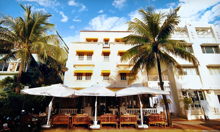 South Beach Suites On Famed Ocean Drive