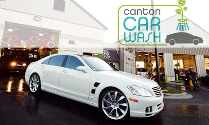 Canton Car Wash - Baltimore: $18 for a Platinum Cleaning at Canton Car Wash