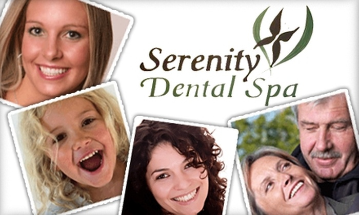 Serenity Dental Spa - Carmel Mountain: $59 for a Dental Exam, X-rays, and Cleaning at Serenity Dental Spa ($475 Value)