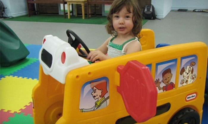 Kiddietown Play Centre - Albro Lake: $18 for 10 Kiddietown Play Centre Visits in Dartmouth ($50 Value)