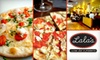 Lala's Wine Bar & Pizzeria - Speer: $9 for $20 Worth of Salads, Pizzas, and Wines at Lala's Wine Bar & Pizzeria