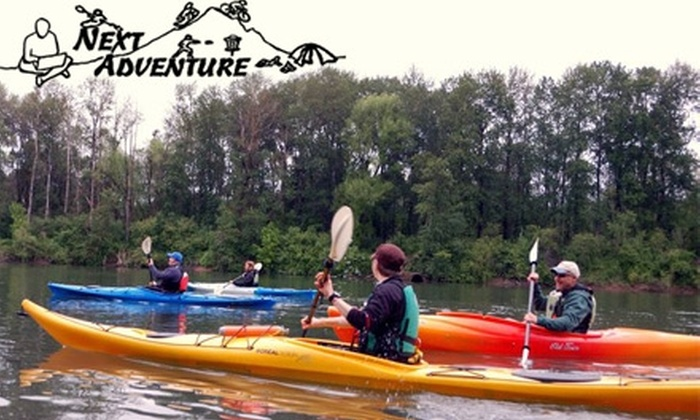 Next Adventure - Sellwood - Moreland Improvement League: $20 for a Ross Island Kayaking Tour with Guided Instruction from Next Adventure ($40 Value)