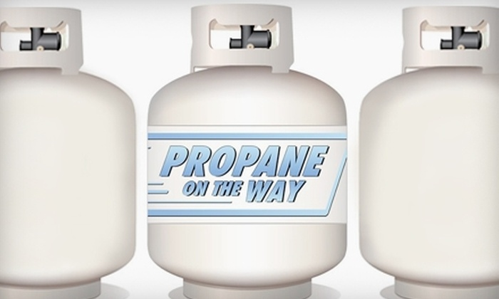 Propane on the Way - Washington DC: $10 for Propane-Tank-Exchange Delivery from Propane on the Way ($19.99 Value)