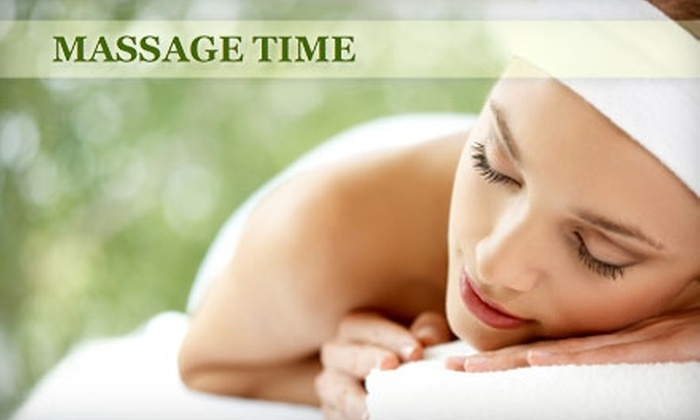 Massage Time - Winstead Park: $25 for an Hour-Long Massage at Massage Time ($50 Value)