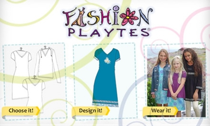 Fashion Playtes - Washington DC: $12 for $25 Worth of Custom-Designed Clothing from Fashion Playtes