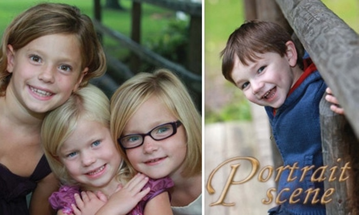 "Smile America Portraits - Dayton: $35 for an On-Location Portrait Session, One 8""x10"", Two 5""x7""s, and Eight Wallet-Sized Prints from Portrait Scene ($149 Value)"