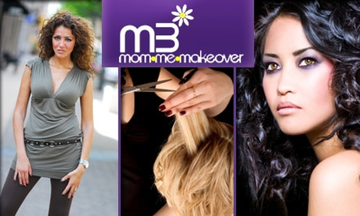 Mom Me Makeover - Saint Louis: $75 for Hair and Makeup Mini-Makeover from Mom Me Makeover
