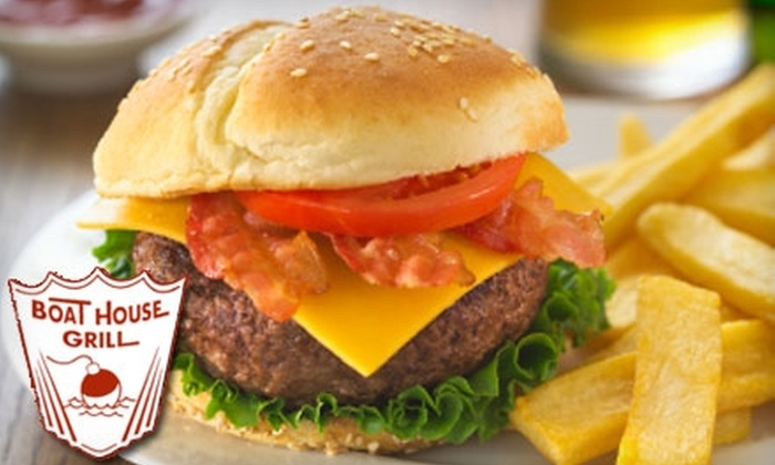 Boat house grill - Austin: $10 for $20 Worth of Casual American Fare at Boat House Grill