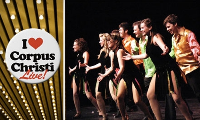 """Corpus Christi Live! - Bay Area: $6 for a Second-Balcony Ticket to """"The Great American Songbook"""" ($12 Value)"""