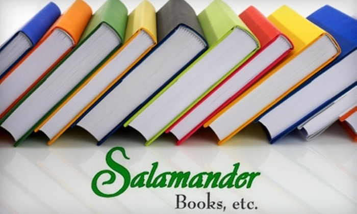 Salamander Used Books - Downtown: $5 for $10 Worth of Used Books at Salamander Used Books