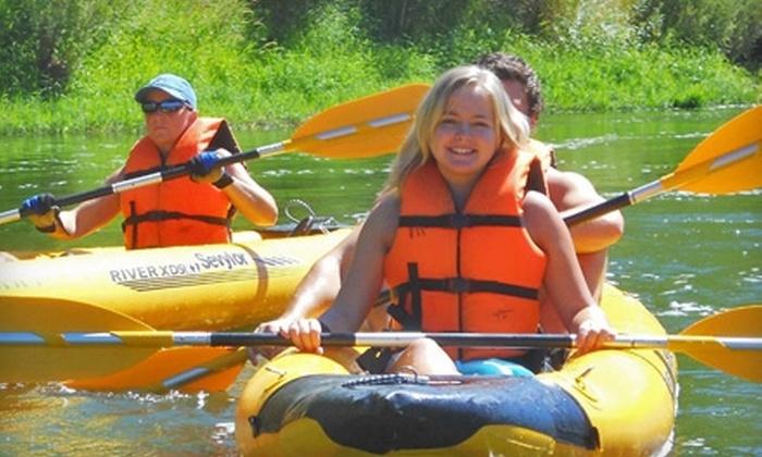 Klamath River Resort Inn - Happy Camp: Kayak Trip or a One-Night Stay at Klamath River Resort Inn