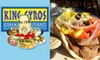 King Gyros - East Columbus: $5 for $11 Worth of Authentic Greek Fare at King Gyros