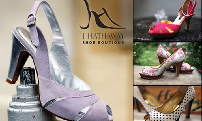 J. Hathaway Shoe Boutique - Park Place: $35 for $75 Worth of Designer Shoes and Accessories at J. Hathaway Shoe Boutique in Leawood