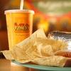 Half Off Tex-Mex Fare or Catering at Izzo's Illegal Burrito
