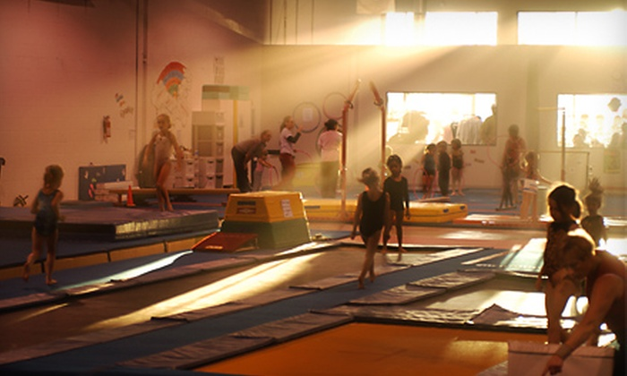 Empire Gymnastics Academy - Euless: $39 for One Month of Gymnastics Classes and Waived Registration at Empire Gymnastics Academy in Euless ($105 Value)