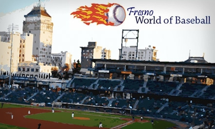 Fresno World of Baseball - Hoover: $18 for One Month Membership and Two Rounds in Batting Cages at World of Baseball ($40 Value)