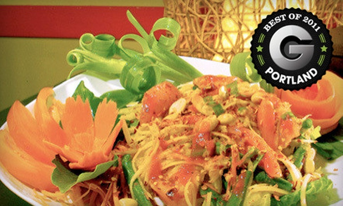 Peemkaew - Pearl: $7 for $15 Worth of Thai Cuisine at Peemkaew