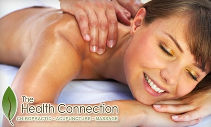 The Health Connection - Central: $69 for a Full Chiropractic Exam Plus a One-Hour Massage at The Health Connection ($260 Value)