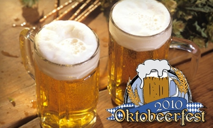 Oktobeerfest - Charlton: $5 for Admission and Two Drink Tokens at Oktobeerfest