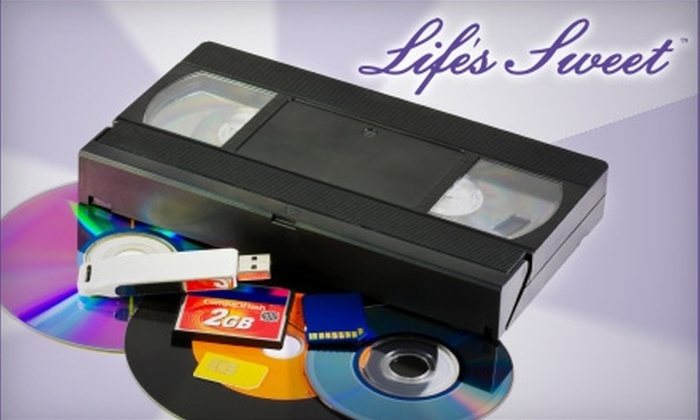 Life's Sweet - Jackson: $12 for Two Hours of Video-to-DVD Transfer at Life's Sweet