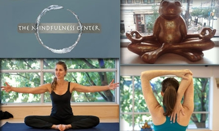The Mindfulness Center - Bethesda: $38 for Any Five Fitness, Wellness, or Meditation Classes at The Mindfulness Center (Up to $150 Value)