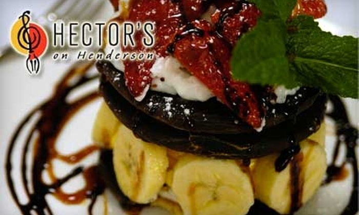 Hector's on Henderson - East Dallas: $20 for $40 Worth of Contemporary American Cuisine at Hector's on Henderson