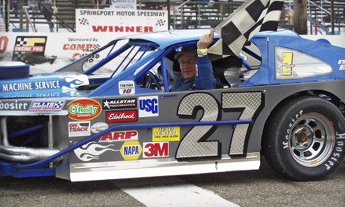 Springport Motor Speedway - Springport: Ride-and-Drive-Experience Packages at Springport Motor Speedway (Up to 51% Off). Two Options Available.