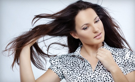 Haircut and Style (a $35 value) - Peachtree Salon in Peachtree City