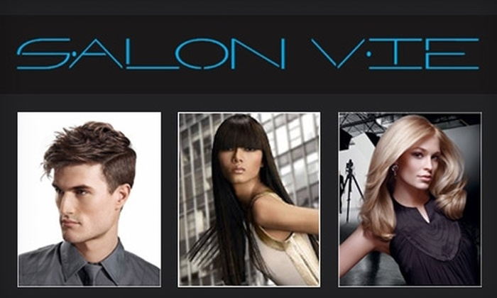 Salon Vie - Sharon Height: $35 for $85 Worth of Hair Services, Plus a Redken Gift, at Salon Vie