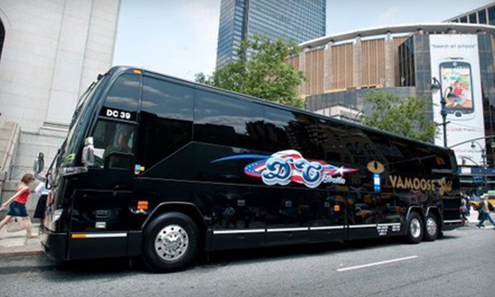 Vamoose Bus - Lorton: $30 for Roundtrip Bus Ride Between Washington, DC and New York City from Vamoose Bus